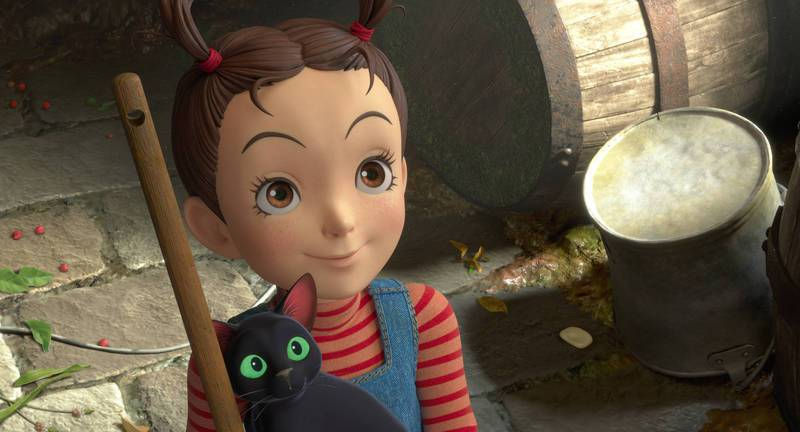 「安雅與魔女」即將於11月12日台灣上映。圖/甲上提供