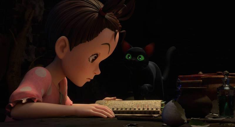 「安雅與魔女」是吉卜力工作室全新力作。圖/甲上提供