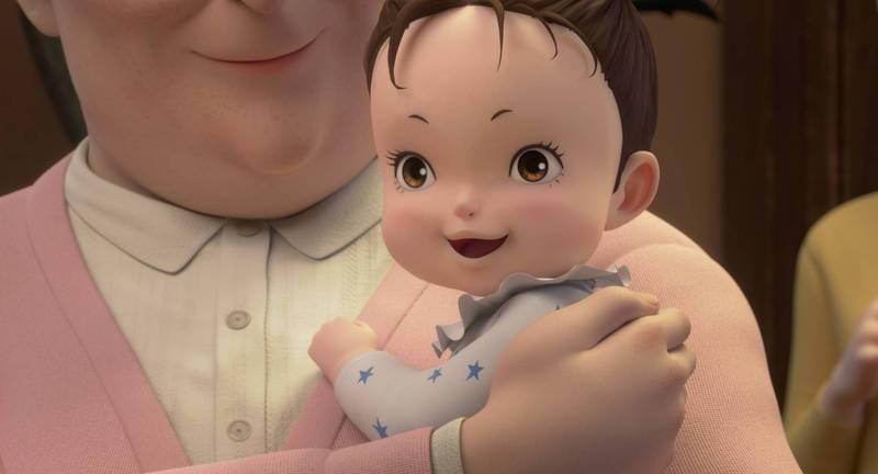 「安雅與魔女」由宮崎駿的兒子宮崎吾朗執導。圖/甲上提供