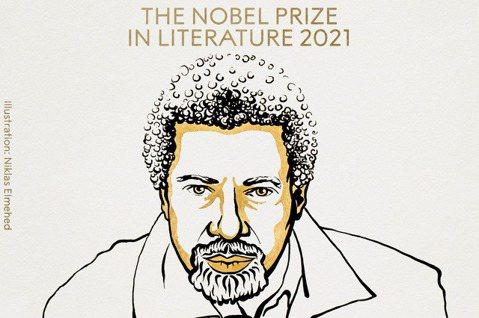 諾貝爾文學獎得主,坦尚尼亞小說家古納。圖/取自諾貝爾獎官網