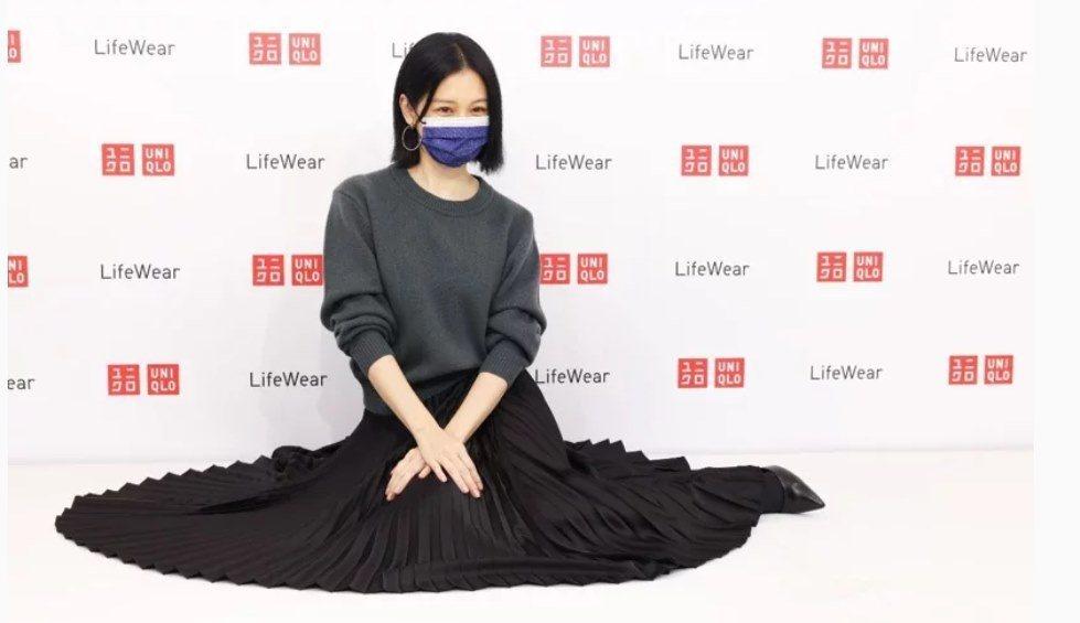 徐若瑄今日出席Uniqlo記者會。記者沈昱嘉/攝影