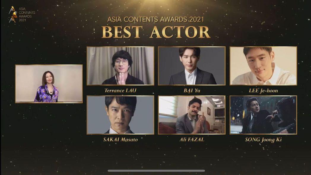 徐若瑄以視訊方式,擔任釜山影展「亞洲內容獎」評審、頒獎人。圖/威威巖娛樂提供