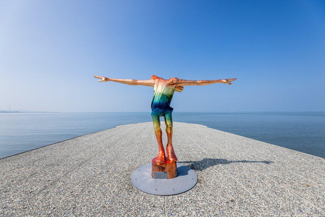 藝術家阿部乳坊「旅人系列」中第四件雕塑作品《A Traveller : Will...