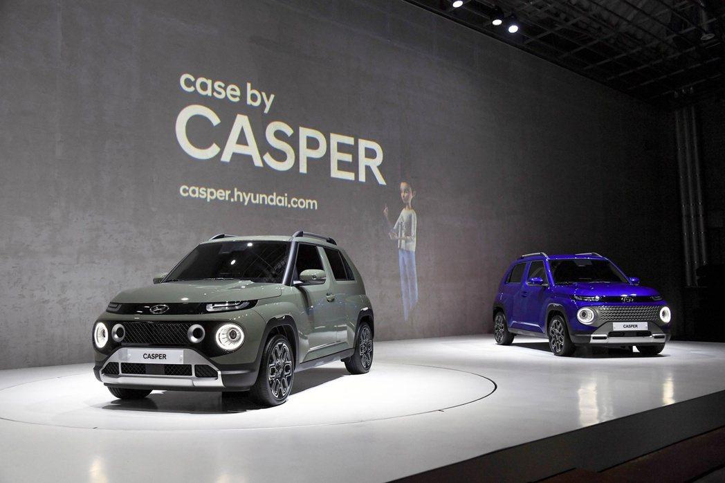 全新輕型跨界休旅Hyundai Casper。 摘自Hyundai