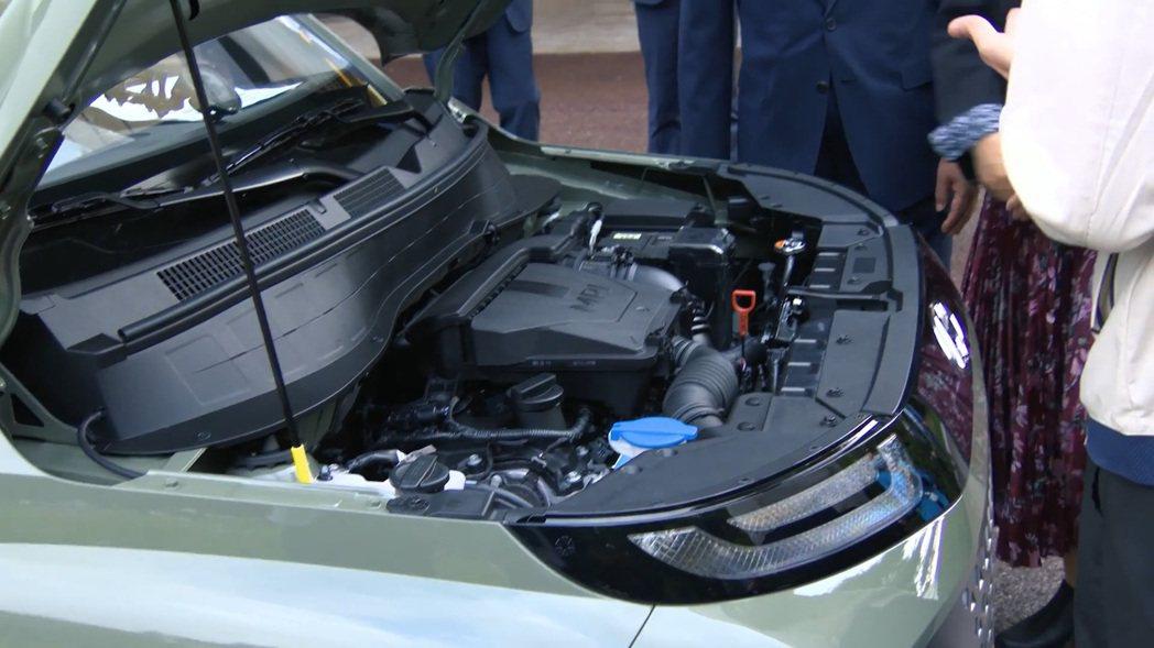 韓國總統文在寅所購買的Hyundai Casper,搭載1.0升SmartSte...