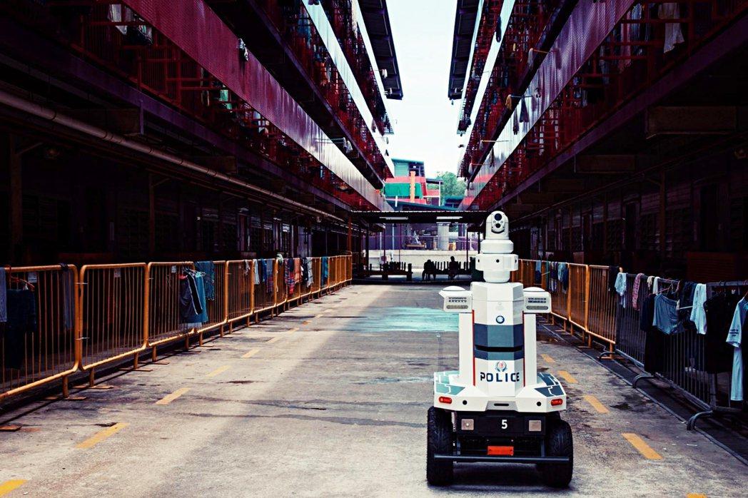 Matar機器人曾在2020年爆發移工宿舍群聚感染之時,在宿舍中執行「提醒移工保...