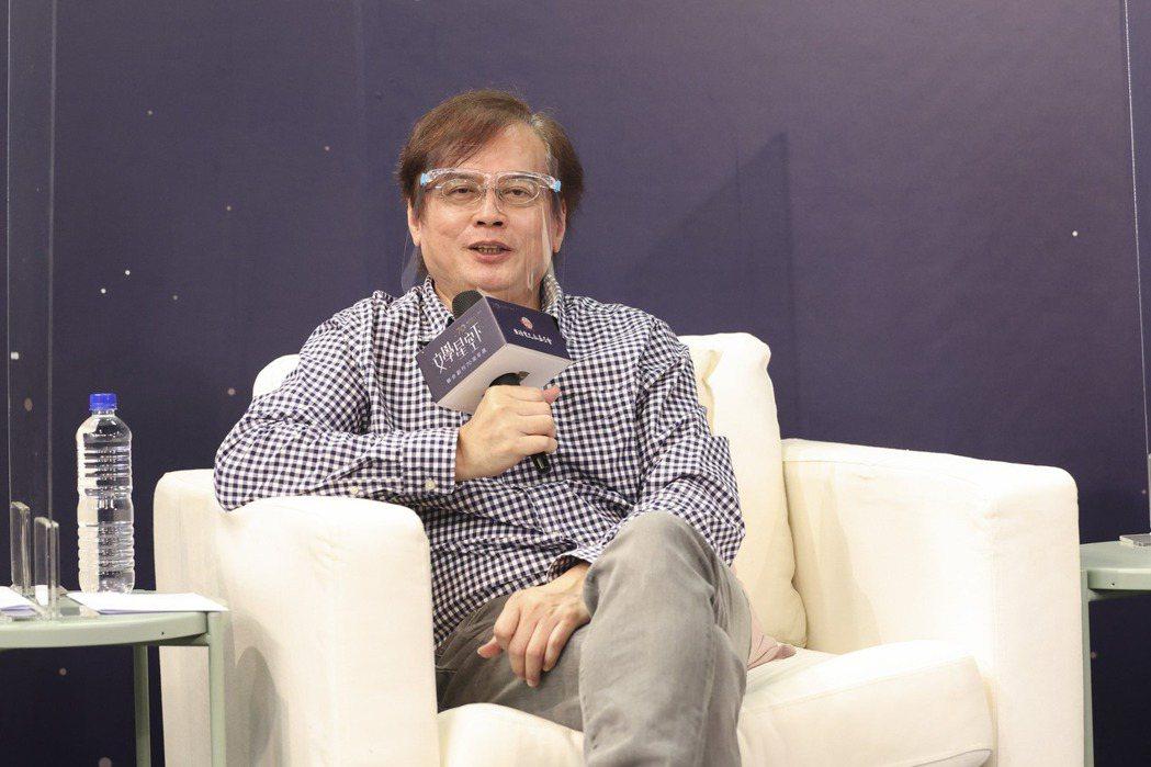 張貴興說,「我寫的是文學的砂拉越,不是地理的砂拉越。」記者王聰賢/攝影