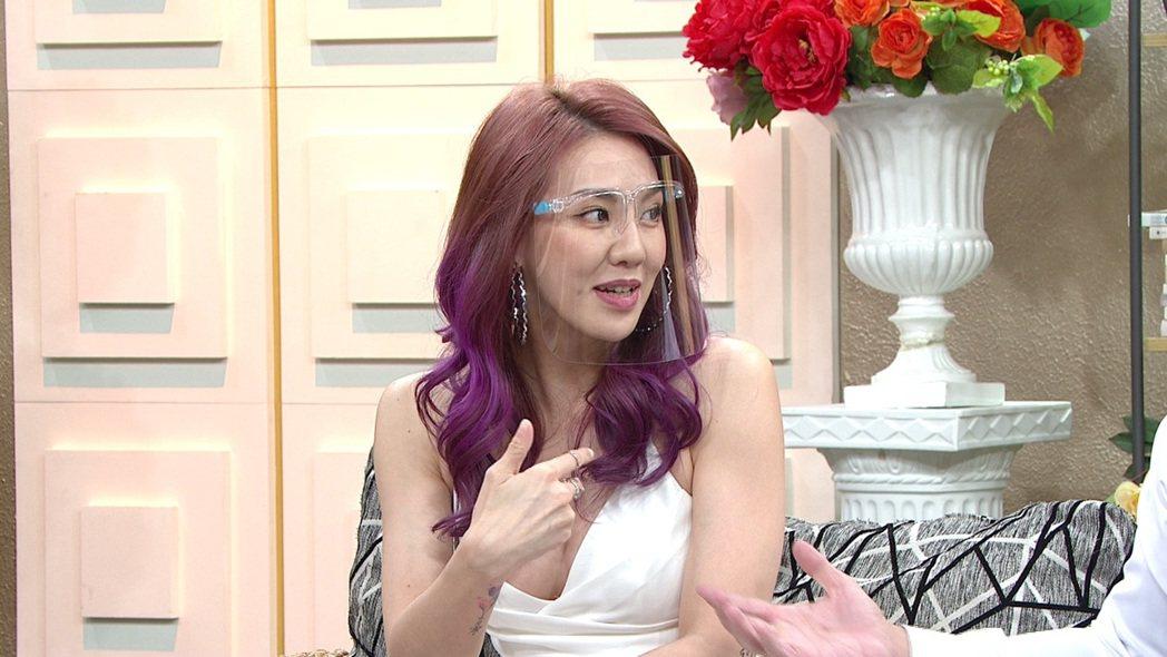劉雨柔透露老公Jeff曾拒收她的禮物。圖/年代MUCH提供