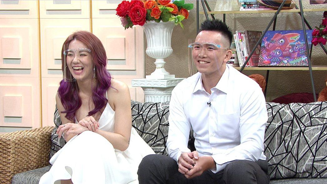 劉雨柔和老公Jeff如今已經走過觀念磨合期。圖/年代MUCH提供