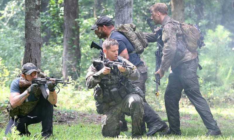 華爾街日報引述未具名美國官員說出,美國陸軍軍特戰部隊,即所謂「綠扁帽」部隊,約20名成員駐台訓練中華民國陸軍。圖為綠扁帽部隊訓練情形。圖/取自US Army