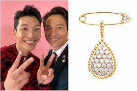 《魷魚遊戲》李政宰、鄭浩妍登美脫口秀 珠寶都選這牌意外成風格CP!
