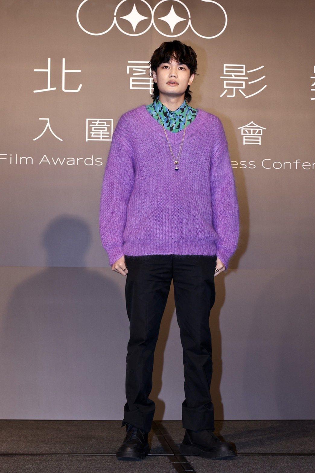 劉子銓以「無聲」入圍台北電影獎最佳新人獎。記者李政龍/攝影