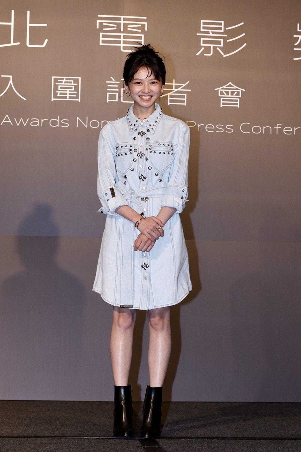 陳姸霏以「無聲」提名台北電影獎最佳新人獎。記者李政龍/攝影