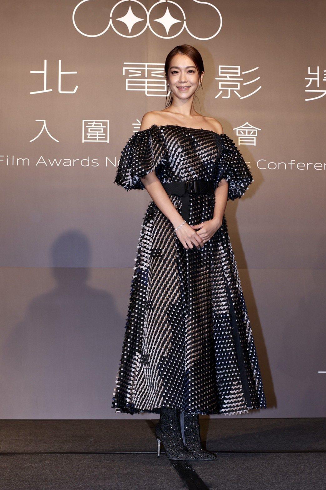 大霈以「消失的情人節」提名台北電影獎最佳女主角。記者李政龍/攝影