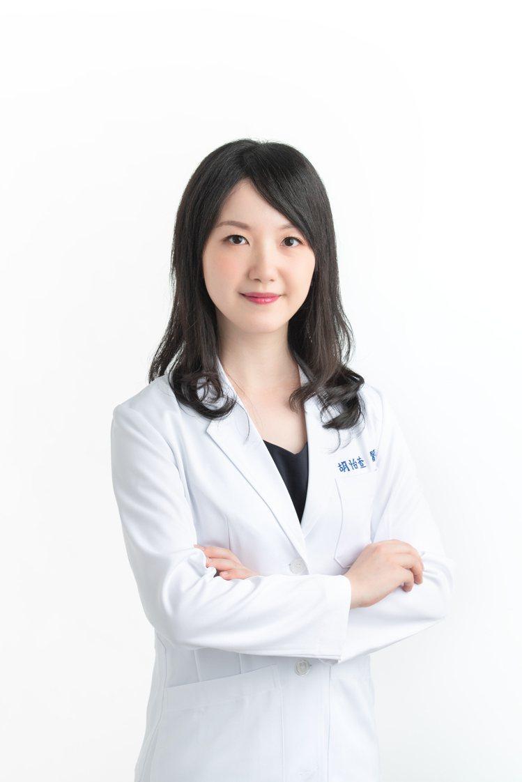 皮膚科專業醫師胡怡萱。圖/施巴提供