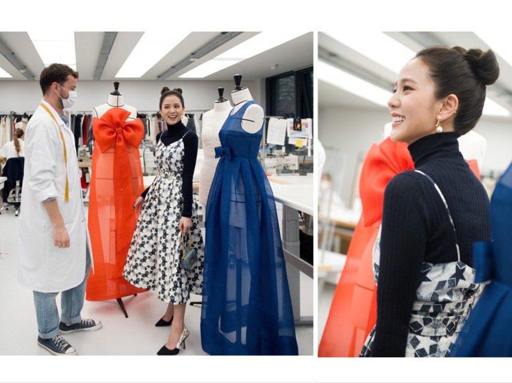 Jisoo參觀DIOR工坊、歷史典藏館及展示春夏時裝系列的工作室,留下多張高顏值...