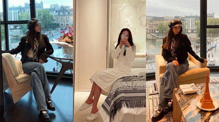Jisoo搶先入住9月才開幕的巴黎白馬莊園酒店,並享用全球唯一的DIOR SPA...