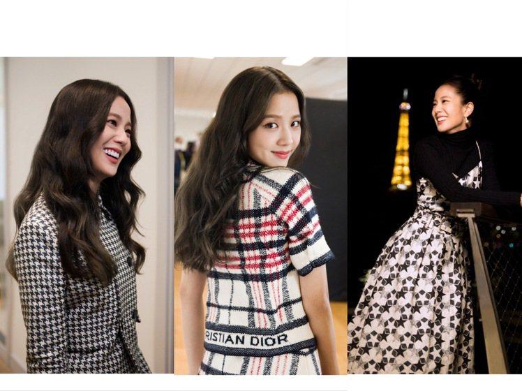 Jisoo參觀DIOR工坊、歷史典藏館及展示春夏時裝系列的工作室,遠近花絮照都美...