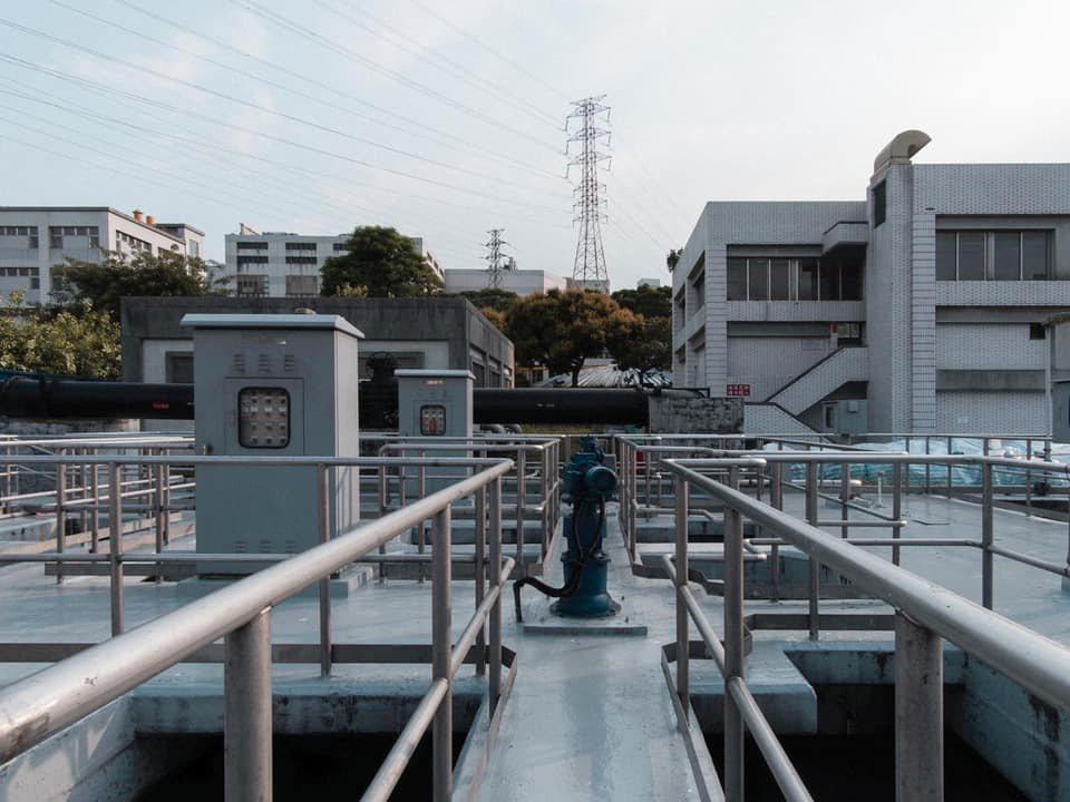 污水處理區每日可處理園區內達10萬多噸的污水量。 圖/Open House Hs...