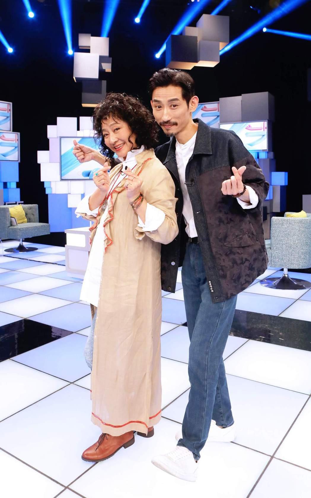 陳竹昇和楊麗音都是實力派演員。圖/公視提供 李姿瑩