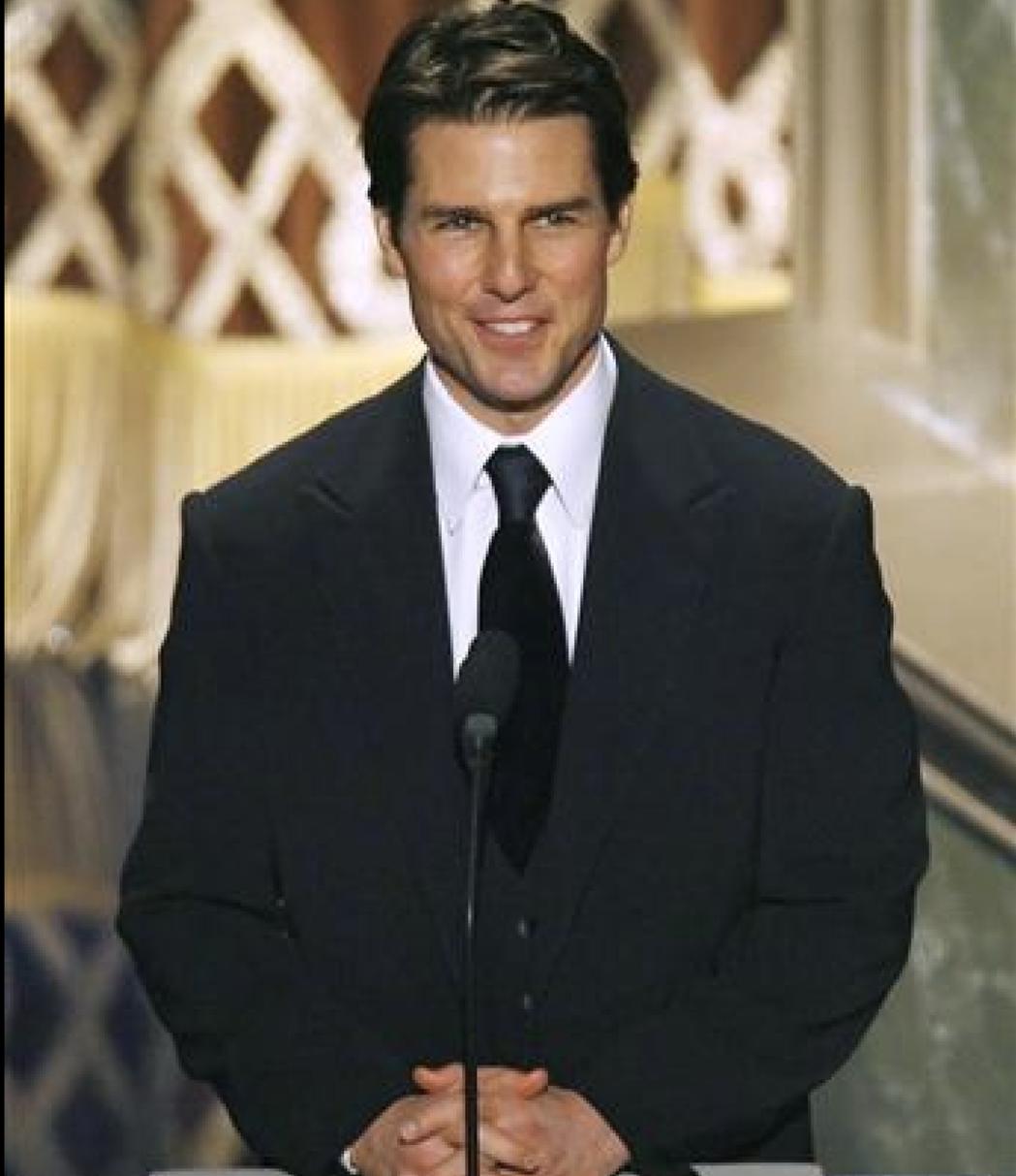 湯姆克魯斯一直以來都靠帥氣外表迷倒無數觀眾。(路透資料照片)