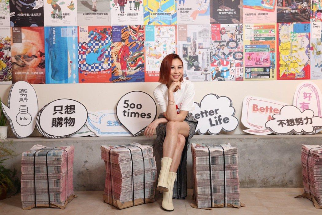 林凡透露已開始於EZ5駐唱,邀請粉絲來聽歌。記者王聰賢/攝影