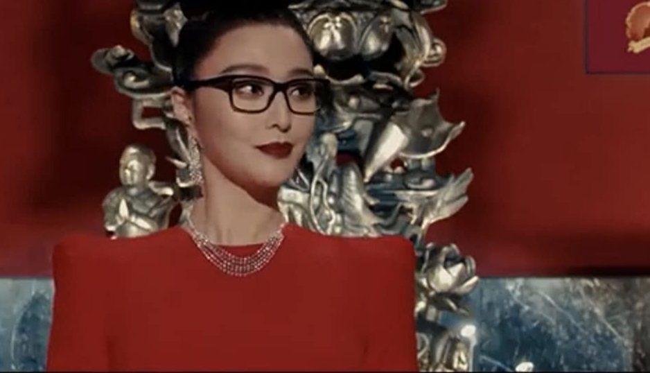 范冰冰在「355」飾演美豔女間諜。圖/摘自imdb