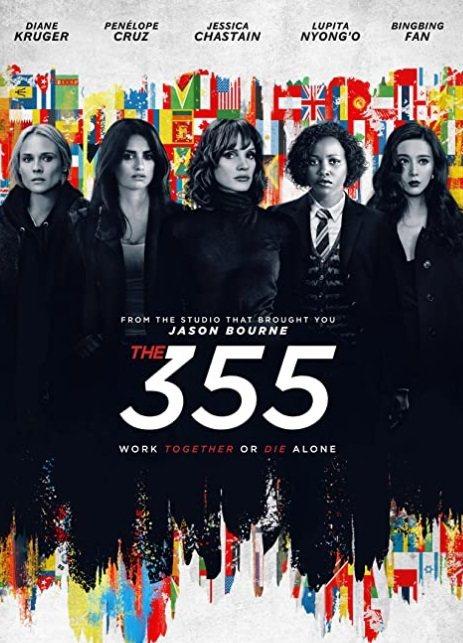 「355」集合多位國際影后聯手出擊。圖/摘自imdb