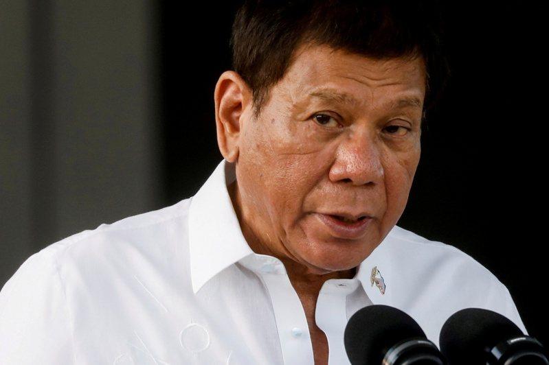 菲律賓總統杜特蒂2日拋出退出政壇的震撼彈。 路透