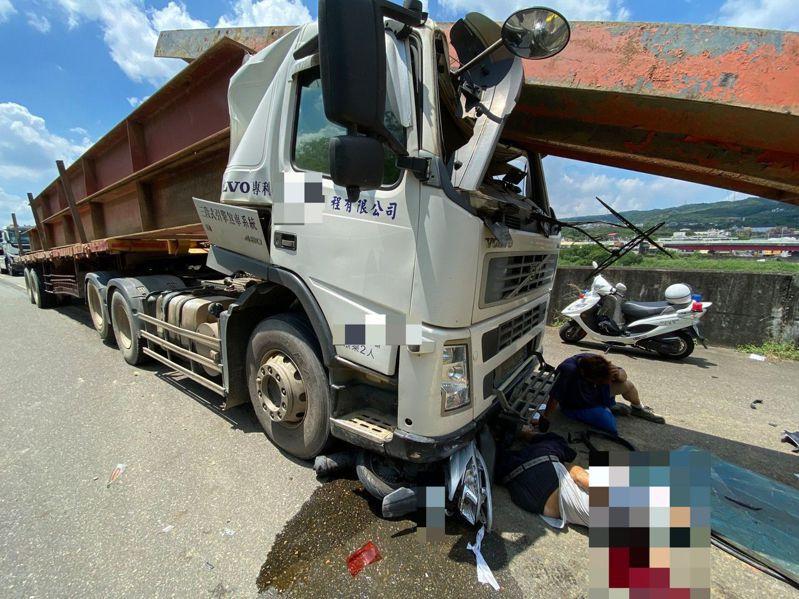 台灣的工程貨運業者把道路當自己家,成了街道上充滿令人避之唯恐不及的「馬路殺手」。本圖為示意圖,與新聞無關。圖/讀者提供