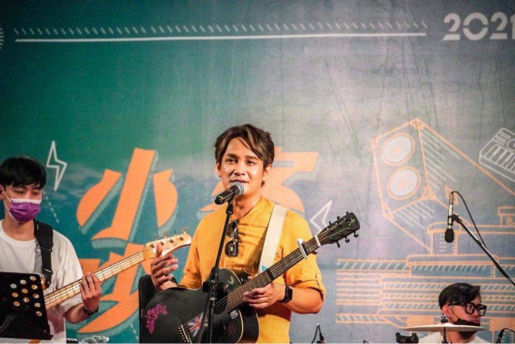 羅文裕上周末在故鄉美濃籌辦「野孩子生活節」、「客家小吵」音樂節。圖/大賞門文化提