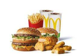 「大麥克振興餐」150元!雞塊、雞翅、薯條、可樂全包