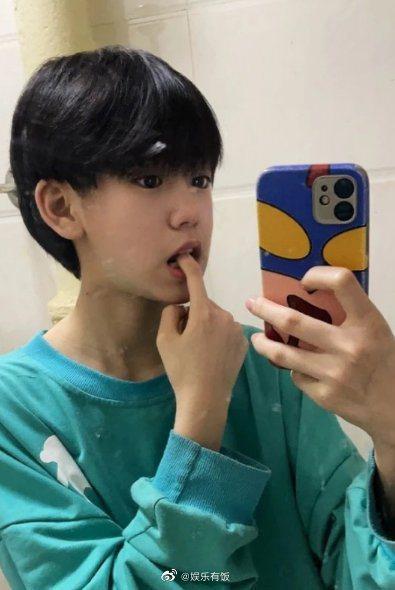 付佳源遭爆是女兒身。圖/擷自weibo。