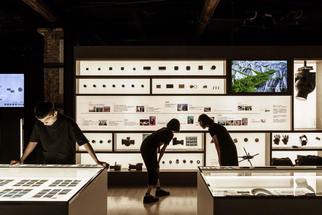 展區D:成為一片寬廣的齊柏林。 圖/看見.齊柏林基金會提供、李易暹攝影