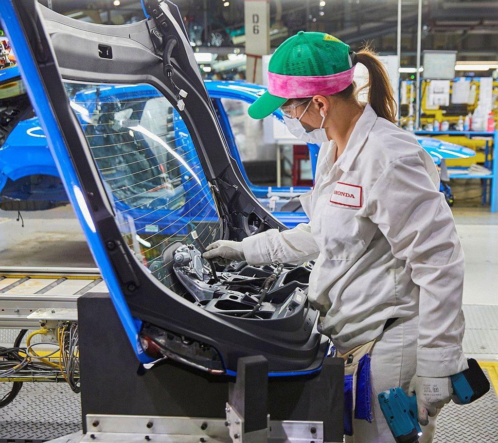 Honda挹注5,020萬美元更新生產設施,包括Civic Hatchback車...