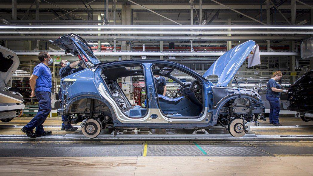 Volvo C40 Recharge日前於比利時正式量產。 摘自Volvo