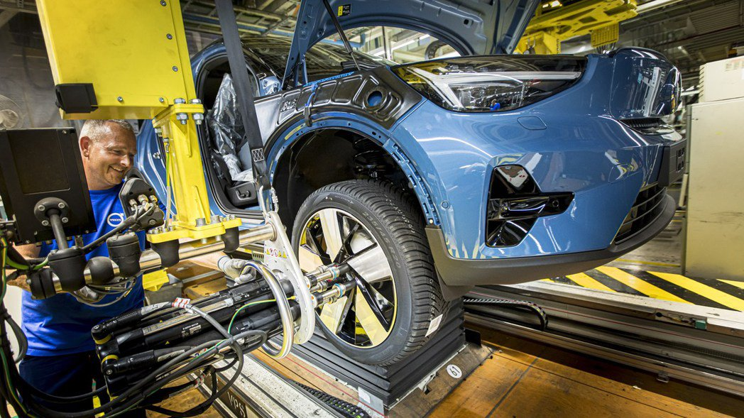 Volvo現階段將以年產13.5萬輛為目標,並預計到2022年比利時廠區的純電動...
