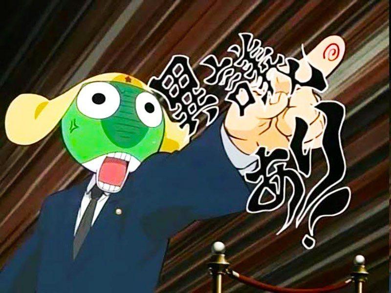 逆轉裁判的高人氣,就連當時的一些動漫畫也喜歡拿它來當梗,圖片為在台灣也很受歡迎的...