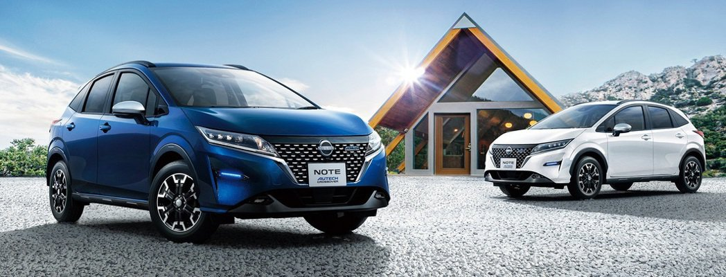 Nissan Note Autech Crossover發表。 摘自Nissan
