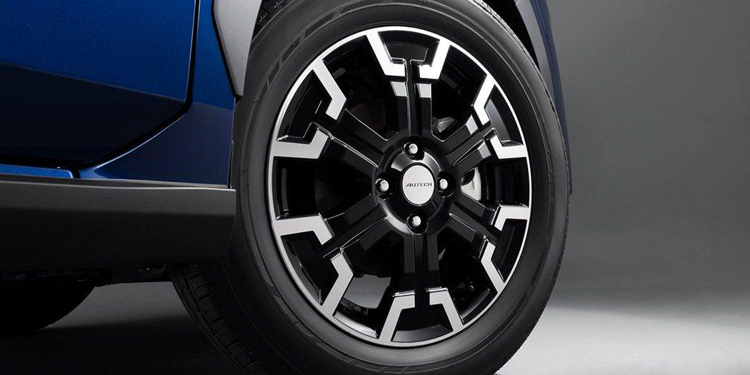 Autech專為Crossover設計的鋁輪。 摘自Nissan