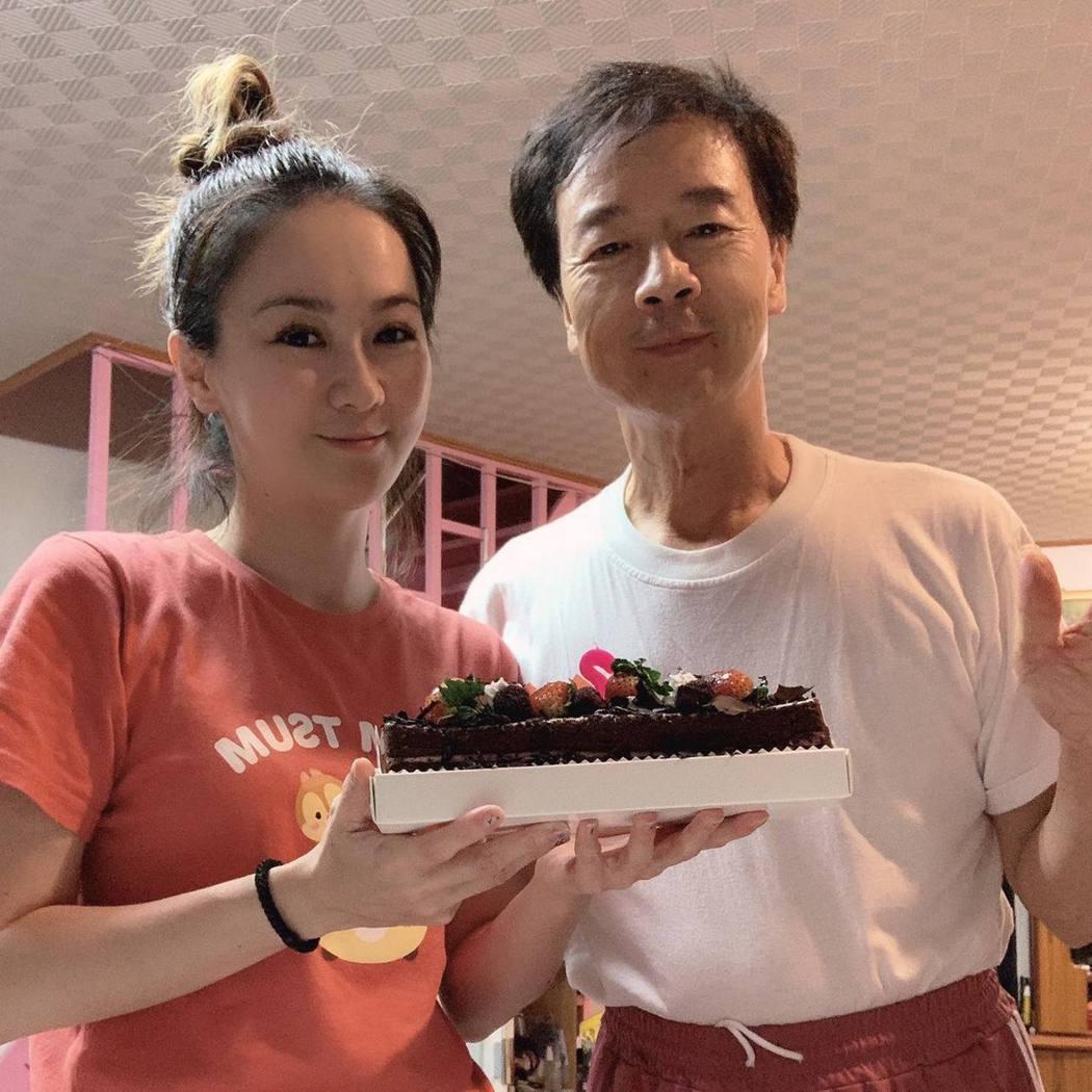 游詩璟的爸爸找到了。圖/摘自臉書