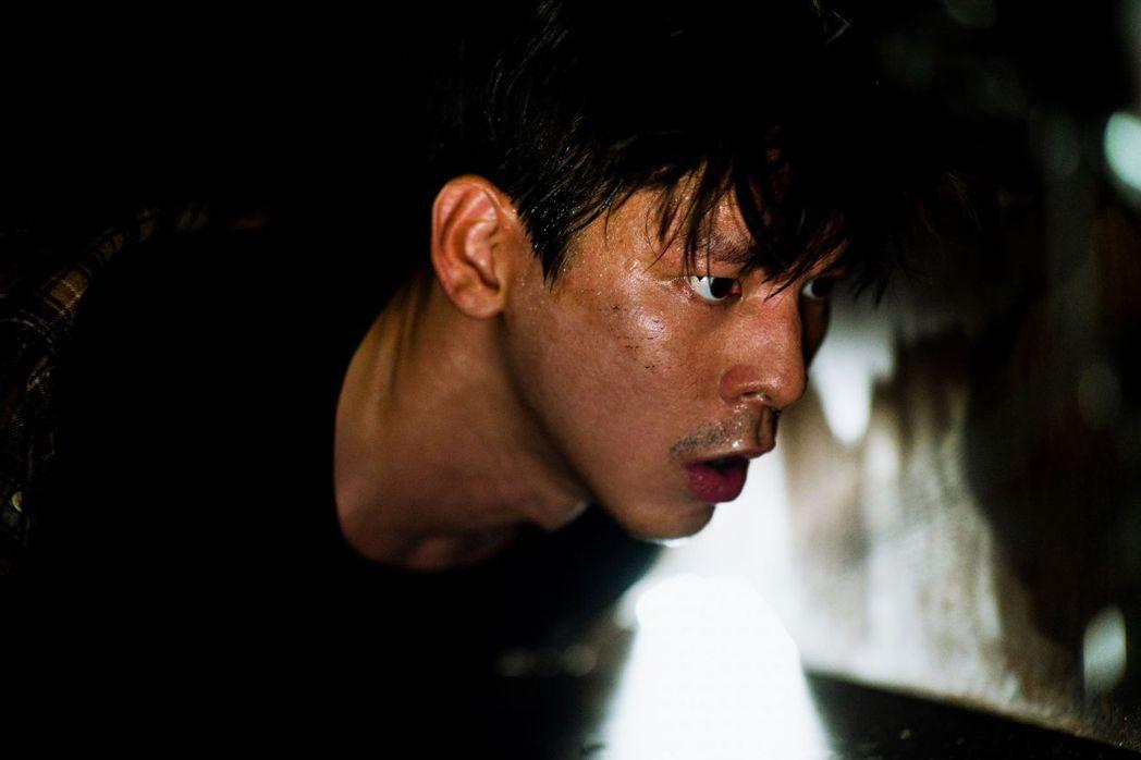 「Kidnapped」林柏宏展現層次豐富的表演爆發力。圖/高雄電影節提供