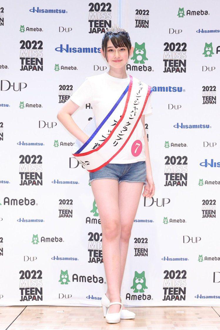 「最正美少女」出爐,由14歲石川花奪后冠。 圖/擷自推特