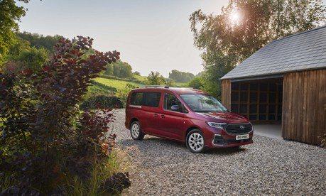 VWCV Caddy雙生車 全新Ford Tourneo Connect明年春季歐洲交車