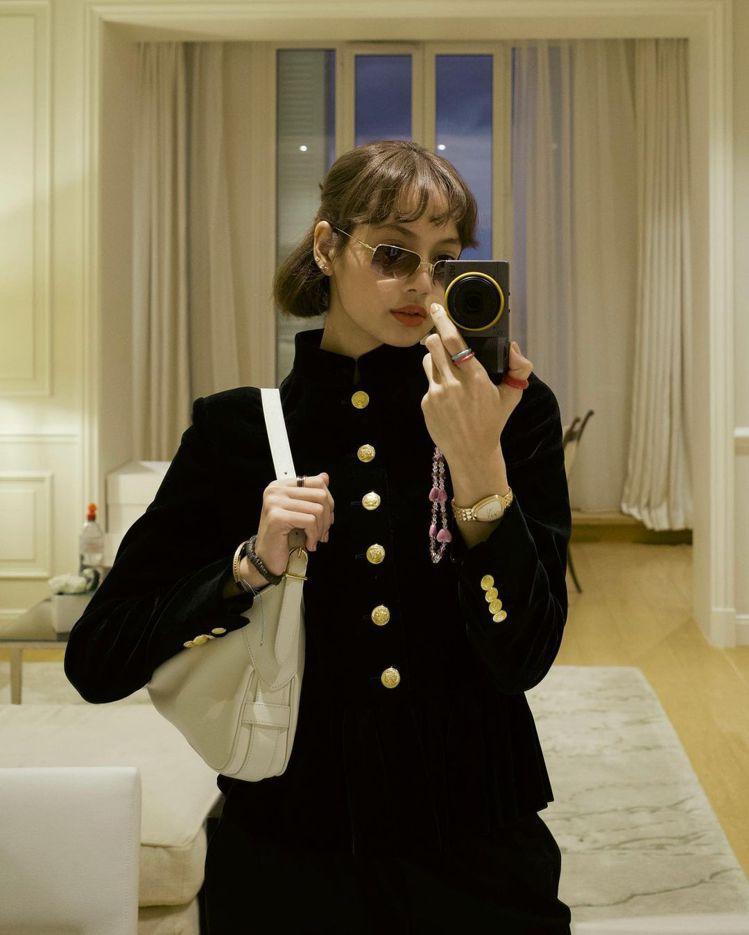 BLACKPINK成員Lisa。圖/摘自instagram
