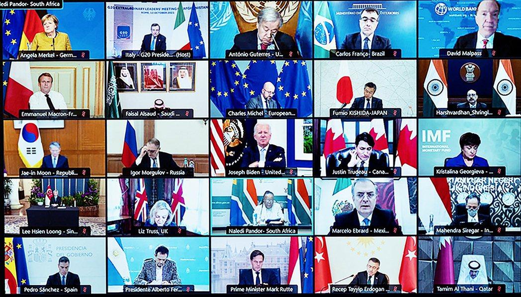 即將在月底於羅馬見面的G20國家元首高峰會,12日在義大利政府的力促之下,針對「...
