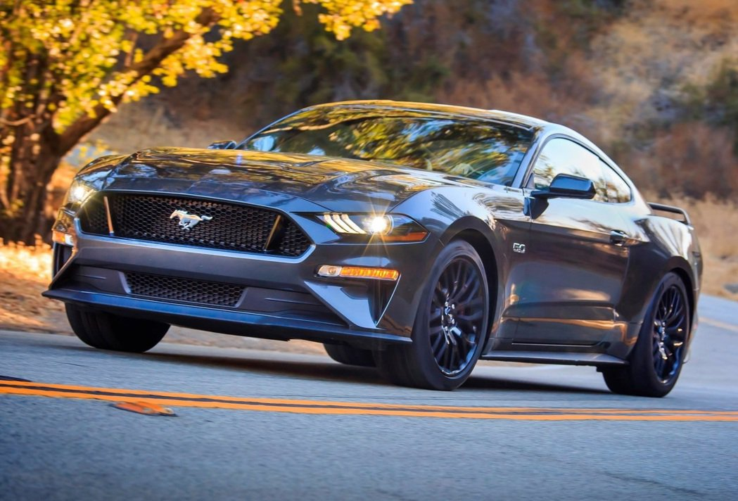 Ford Mustang GT。 摘自Ford