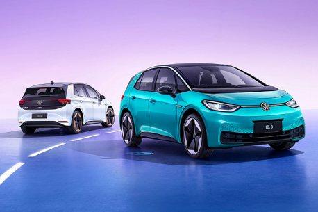 台灣還在等!福斯ID.3平價電動車中國首發,累積三款純電銷售陣容