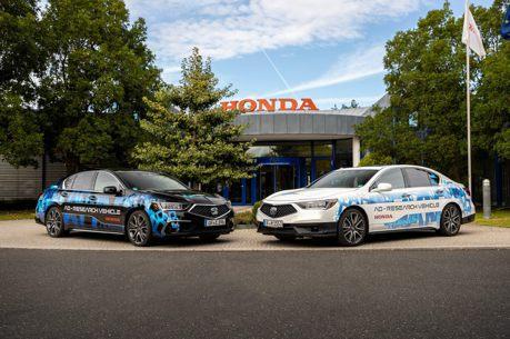 Honda展現一級車廠實力 自駕Level 3和Level 4原型車於德國登場!