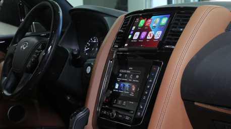 北美Infiniti為部分舊款車型提供免費升級無線Apple CarPlay服務